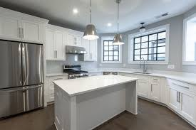 colored kitchen cabinets with stainless steel appliances modern kitchen with white cabinets stainless steel