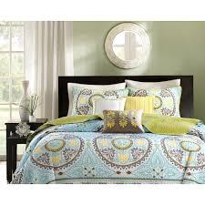overstock girls bedding home essence keya 6 piece quilt set walmart com