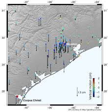 Hurricane Map Hurricane Harvey Pushed The Earth U0027s Crust Down By 2 Centimeters