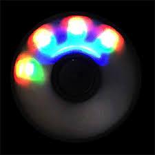 a light up fidget spinner up fidget spinner yellow