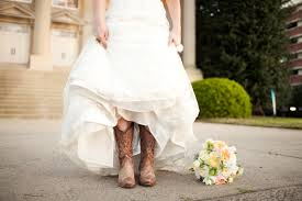 wedding dress cowboy boots make a statement on your wedding day with colorful wedding shoes