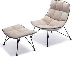 Lounge Chair Ottoman Jehs Laub Wire Lounge Chair Ottoman Hivemodern