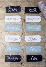 wedding gift labels printable wedding gift tags lia griffith