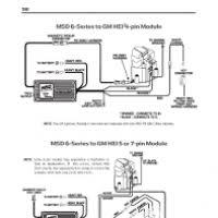 msd 6al wiring diagram for gm hei yondo tech