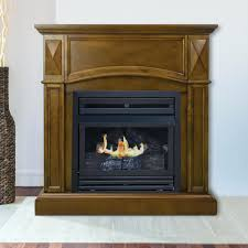 ventless gas fireplace reviews home depot vent free with blower