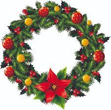 christmas wreath christmas wreath 2 vector free vector 4vector
