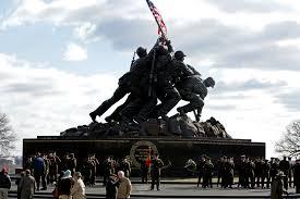 Iwo Jima Flag Raising Staged Iwo Jima Flag Raiser U0027s Name Is Wrong In Government Brochure
