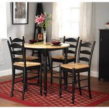 simple living round counter height 5 piece dining set free
