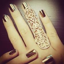 long rings jewelry images Jewels gold ring nail polish armor ring jewelry gold ring jpg