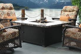 Patio Dining Sets With Fire Pits by Patio Furniture With Fire Pit And Combination Of Elements Home