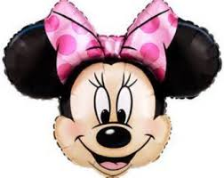 minnie mouse balloon etsy