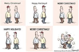 should you say merry or happy holidays cus