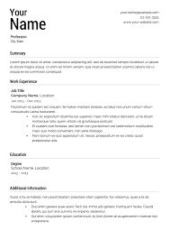 professional resume template 2013 waitress first resume template high students first job job