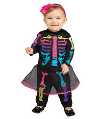 Halloween Costumes 18 24 Months Neon Bones Baby Costume Scary Costumes