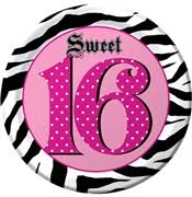 Pink And Black Sweet 16 Decorations Sweet 16 Decorations Sweet 16 Party Store
