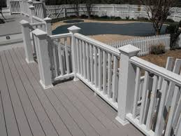 wood deck composite deck reston va builders fence co