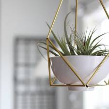 modern hanging planters lotus 01 geometric modern hanging planter geometric planter
