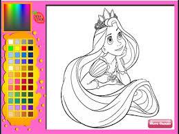 rapunzel coloring pages rapunzel games