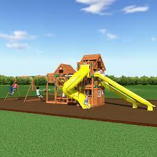 amazon com backyard discovery safari all cedar wood playset swing
