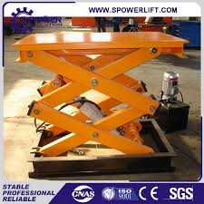 used electric lift table used electric scissor lift table vestil electric hydraulic scissor