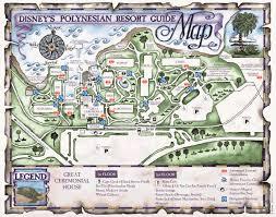 Coronado Springs Resort Map Disney U0027s Polynesian Village Resort