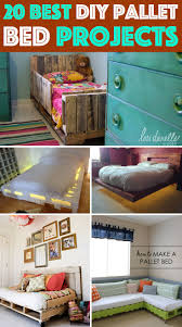 Pallet Bed Furniture Ideas 45 Best Diy Beds Images On Pinterest 3 4 Beds Architecture And Home