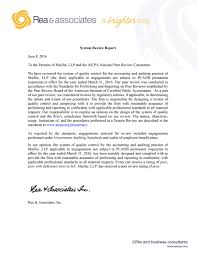 maillie llp peer review letter maillie llp