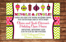 invitation ornament open house can
