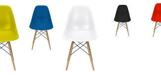 chaise eames grise chaise grise design eiffel sw charles eames lot de chaise