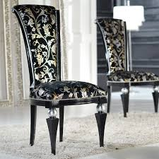 upholstered chairs for dining room black velvet wood dining chair the chair market