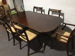 mahogany dining room set mahogany dining room table with 6 chairs including 2 carver chairs