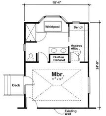 Out Master Suite Addition This  X  Master Suite Includes A - Master bedroom plans addition