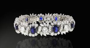 diamond bracelet with sapphire images Bulgari sapphire and diamond bracelet 1960s hd rare and unique jpg