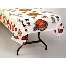 thanksgiving plastic table covers table mate thanksgiving plastic disposable table cover 54 w x 108 l