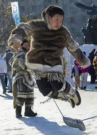 inuit games by fraulyne on deviantart