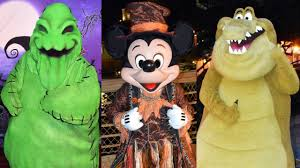 halloween character montage at walt disney world 2016 mickey