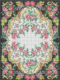 Hook Latch Rugs Charted Wool Latch Hook Kits In Floral Designs