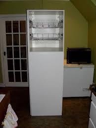 Ikea Tall Kitchen Cabinets Ikea Tall Kitchen Cupboard Unit Larder Unit White 190cm H 60cm