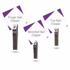 stainless steel nail clipper travel grooming kit