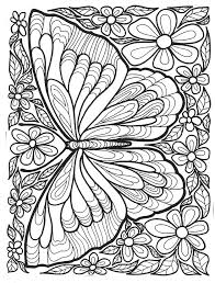 coloring butterflies mindfulness coloring free