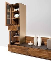 Wohnzimmerschrank Nussbaum Massiv Cubus Pure Wohnwand Einzigartig Im Design Team 7