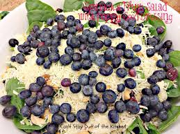 spinach and fruit salad with poppy seed dressing can u0027t stay out