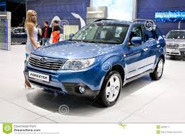 subaru crossover blue blue jeep car subaru forester editorial photo image 20828171