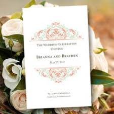 Wedding Program Dimensions Creative Wedding Programs Wedding Programs Programming And Weddings