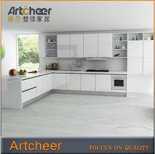 kitchen cabinets aluminum glass door customised kitchen cabinet with aluminum frame glass door