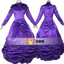 Halloween Costumes Purple Dress Aliexpress Buy Halloween Costumes Women Princess Cosplay
