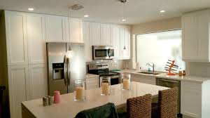 remodeled kitchen with open floor plan design