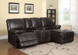 Stylish Recliner Small Sofa With Chaise And Recliner Tehranmix Decoration