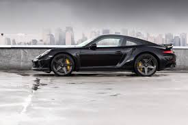 black porsche 911 turbo topcar u0027s stinger gtr is a beastly porsche 911 turbo s
