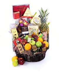 fresh fruit basket delivery in bloom s fruit gourmet basket fruit basket with an assortment